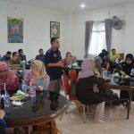 Suasana Diskusi Tamu Malaysia dengan Pejabat DSI Aceh di Aula Gedung LPTQ, 16/03