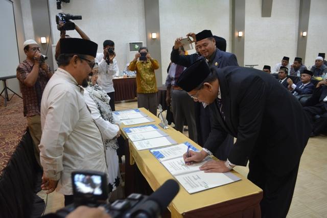 Jalin Kerjasama dengan 3 Fakultas Uin Ar-Raniry
