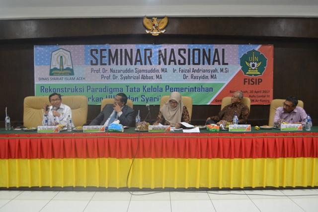 DSI Aceh dan UIN Ar-Raniry Selenggarakan Seminar Nasional