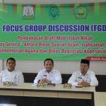 Dsi Aceh Lakukan Fokus Group Discussion (FGD) terkait Draft MoU Itsbat Nikah
