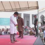 Pelaksanaan Uqubat Cambuk bagi Pelanggar Liwath