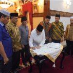 Penandatanganan Draft MoU Isbat Nikah Bersama Instansi Terkait