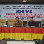 Alumni PT diberi Pembekalan Syariat Islam