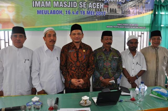 Meulaboh Tingkatkan Kapasitas Imam Masjid Se-Aceh