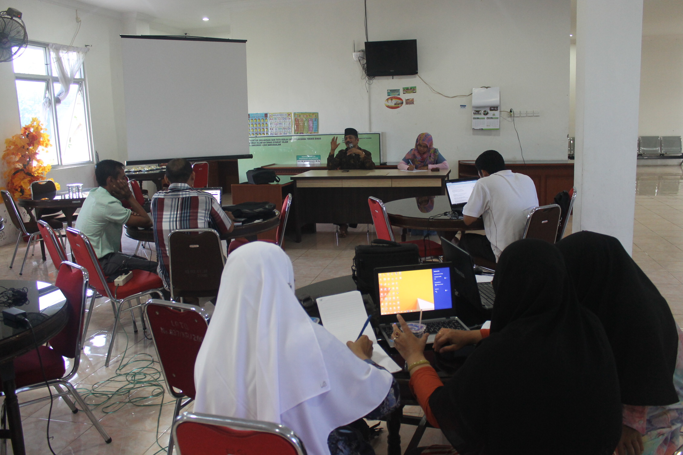 Upgrading Skill Website Dinas Syariat Islam