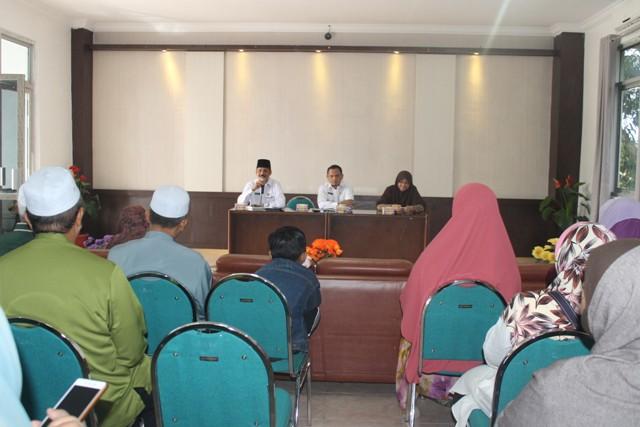 Kunjungan dari Tamu Partai Islam Se-Malaysia (PAS)