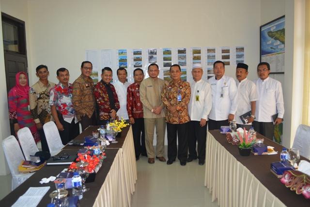 Audiensi Dinas Syariat Islam Aceh ke Kanwil Kementerian Hukum dan HAM Aceh 2018