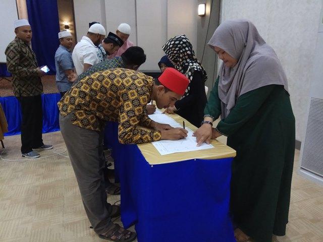 Kegiatan Pembinaan dan Peningkatan Lembaga Dakwah se-Aceh Tahun 2018