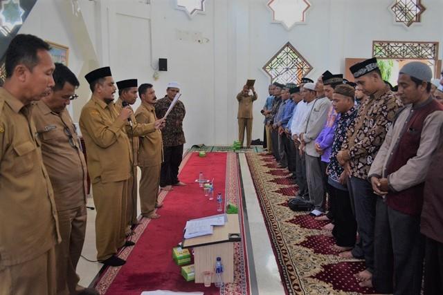 Pengambilan Sumpah Da'i di Mushalla As-Salam tahun 2018