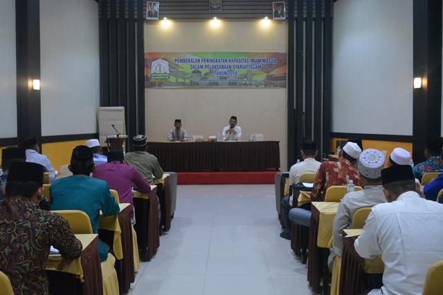 Pembekalan Peningkatan Kapasitas Imam Masjid Tahun 2018