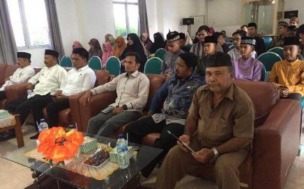 Suasana pembukaan Training Center (TC) tahap pertama di Aula LPTQ Aceh pada Jum'at (13/3/2020) pagi.