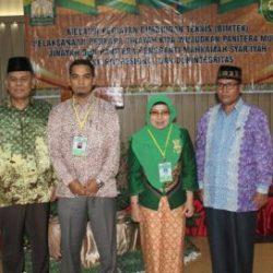 Ketua Mahkamah Syar'iyah Aceh Drs Jufri Ghalib SH MH Foto Bersama Peserta Bimtek Perkara Jinayat Tahun 2017