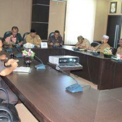 Rapat Koordinasi Mahkamah Syar'iyah Aceh dengan DSI Aceh