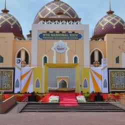 Lokasi Perlombaan STQN XXIV Islamic Center, Tarakan Kalimantan Utara