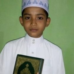 Ammar Qari Cilik Saat Sebelum Tampil di Islamic Center, Tarakan Kalimantan Utara