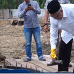 Peletakan Batu Pertama Oleh Gubernur Aceh pada Gedung Baru DSI