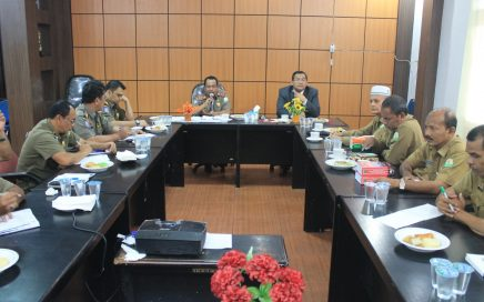 DSI Kunjungi Satpol PP dan WH Aceh dalam Rangka Penegakan Syariat Islam