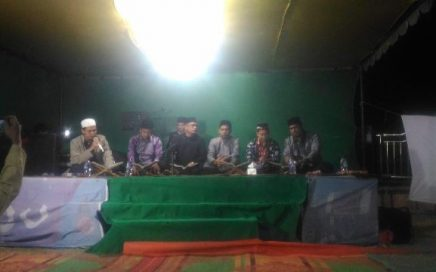 Suasana haflah Al-Qur'an yang berlangsung di kampong Bom kecamatan Lut Tawar, Takengon, Aceh Tengah pada Senin (13/8/2018).