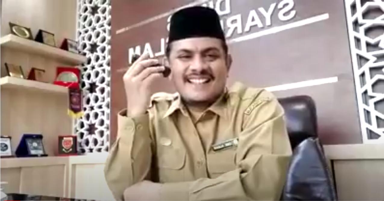DINAS SYARIAT ISLAM ACEH – Wawancara Kepala Dinas Syariat Islam terkait Aplikasi Kitab Suci Aceh yang ada di Google Play Store