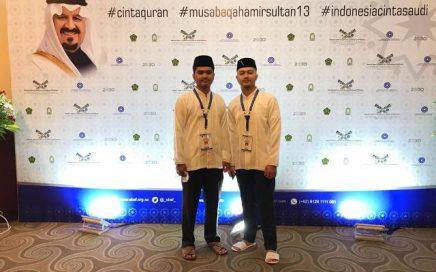 di even Musabaqah Hafalan Al-Qur'an dan Hadits (MHQH) Amir Sultan bin Abdul Aziz Al-Su'ud Tingkat Nasional ke-13 Tahun 2021 di Jakarta, 22-25 Maret 2021.